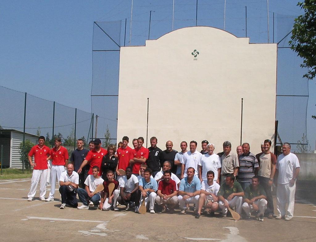 Souvenirs : Championnat de ligue, Villeurbanne 2005